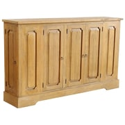 One Allium Way Pannell Rustic Sideboard; Rustic Mango Natural