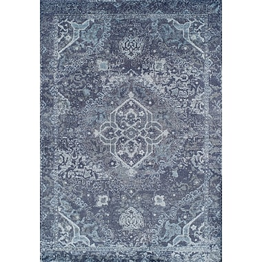 Ophelia & Co. Bevin Navy Blue Area Rug; 5'3'' x 7'7''