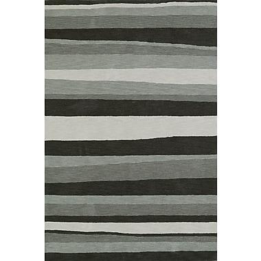 Williston Forge Lorne Charcoal Area Rug; 5' x 7'6''