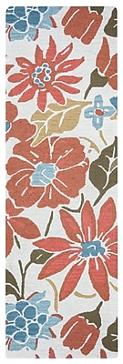 August Grove Soline Hand-Tufted Light Natural Area Rug; 8' x 10'