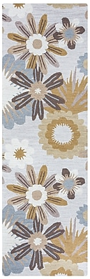August Grove Soline Hand-Tufted Brown Area Rug; 8' x 10'