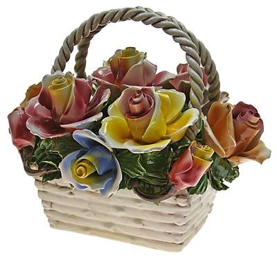 August Grove Rectangular Flower Mix Bouquet in
