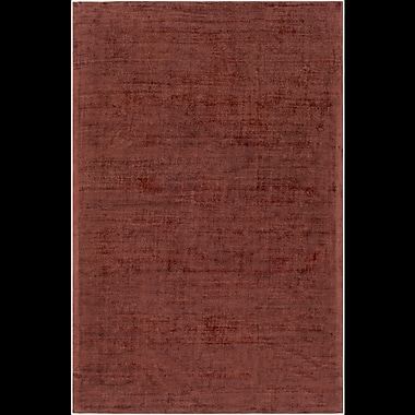 Alcott Hill Goldston Hand-Loomed Brown Area Rug; Runner 2'6'' x 8'