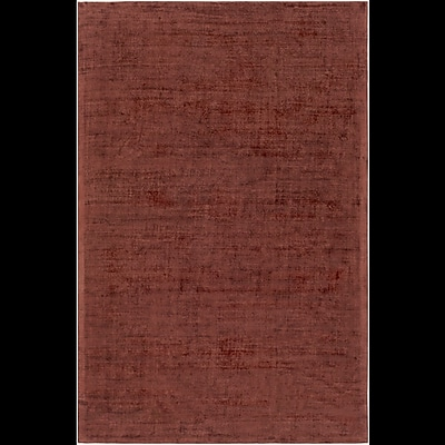 Alcott Hill Goldston Hand-Loomed Brown Area Rug; Rectangle 4' x 6'