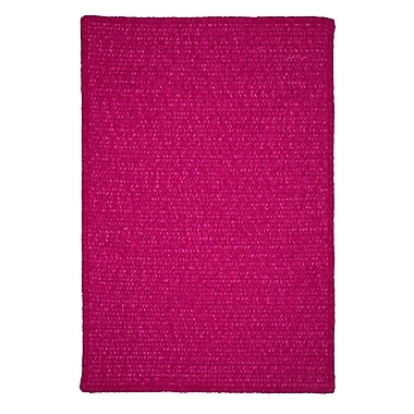 Alcott Hill Redfield Hand-Woven Pink Area Rug; Square 12'