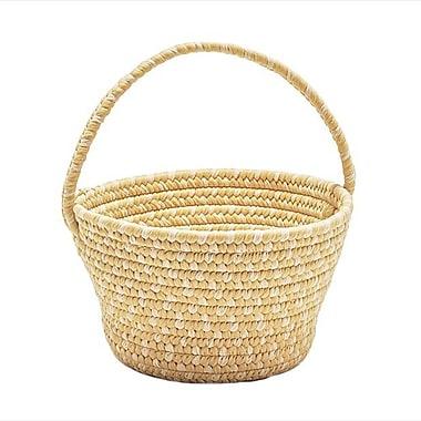 Alcott Hill Fabric Basket; Yellow