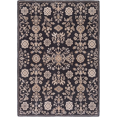 Astoria Grand Bloomingdale Gray/Neutral Area Rug; Rectangle 5'3'' x 7'6''