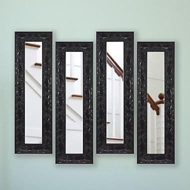 Astoria Grand Odyssey Panel Mirror (Set of 4); 22'' H x 10'' W