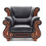 Astoria Grand Baisden Club Chair; Black