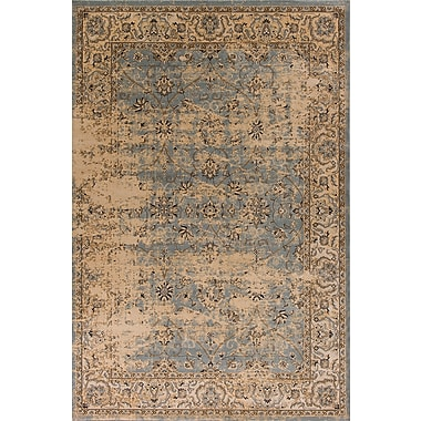 Astoria Grand Bailor Gray/Tan Area Rug; Rectangle 7'10'' x 10'6''