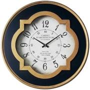 Astoria Grand Round Metal Oversized Wall Clock
