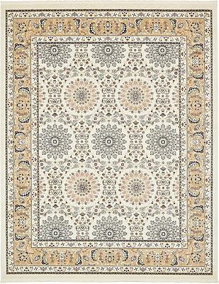 Astoria Grand Jackson Ivory Area Rug; Rectangle 13' x 19'8''