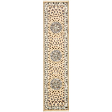 Astoria Grand Jackson Beige Area Rug; Rectangle 8' x 10'