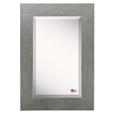 August Grove Freeburg Wall Mirror; 31.5'' H x 27.5'' W x 0.75'' D