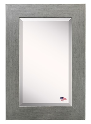 August Grove Freeburg Wall Mirror; 37.5'' H x 33.5'' W x 0.75'' D