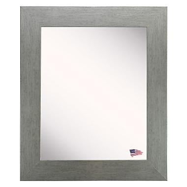 August Grove Ellis Wall Mirror; 38'' H x 32'' W x 0.75'' D