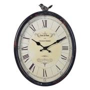 August Grove Wall Clock