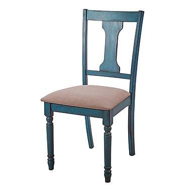 August Grove Scarlet Side Chair (Set of 2)
