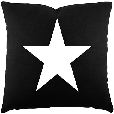 August Grove Meridian Star Cotton Throw Pillow
