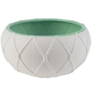 August Grove Nautical Knot Ceramic Pot Planter