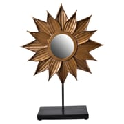 August Grove Cooper Flower Table Mirror
