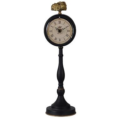Astoria Grand Pedestal Tabletop Clock; Medium