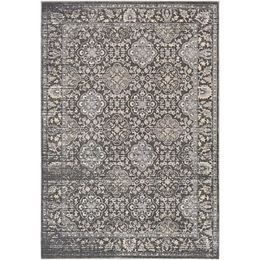 Astoria Grand Villegas Medium Gray/Taupe Area Rug; 2' x 3'
