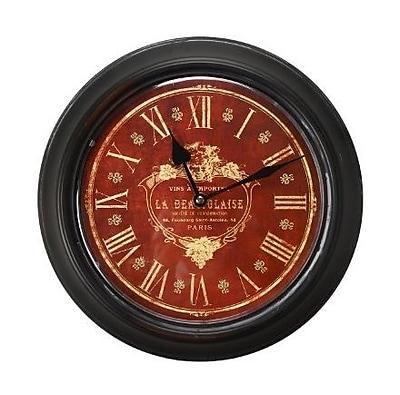 Astoria Grand 11.8'' Round Metal Wall Clock