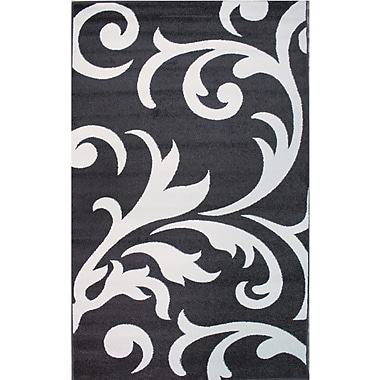 Astoria Grand Melendez Ivory/Grey Area Rug; 8' x 10'