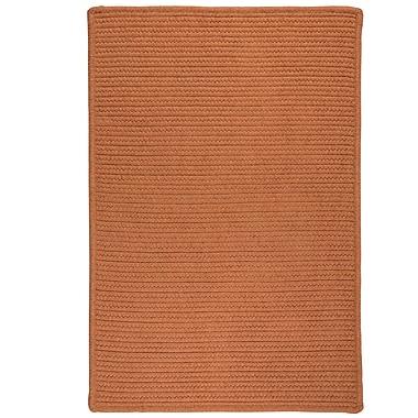 Bay Isle Home Irini Hand-Woven Orange Area Rug; Rectangle 8' x 10'