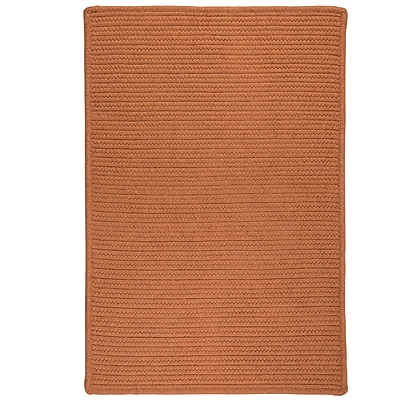 Bay Isle Home Irini Hand-Woven Orange Area Rug; Rectangle 5' x 7'