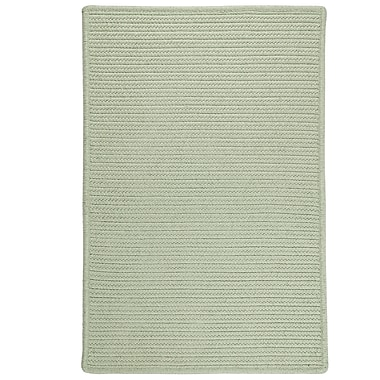 Bay Isle Home Isla Hand-Woven Green Area Rug; 5' x 7'