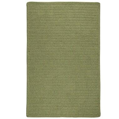 Bay Isle Home Kaimakli Hand-Woven Green Area Rug; 2' x 9'