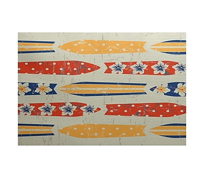 Bay Isle Home Golden Beach Indoor/Outdoor Area Rug; 3' x 5'