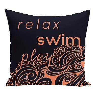 Bay Isle Home Grand Ridge Word Throw Pillow; 20'' H x 20'' W