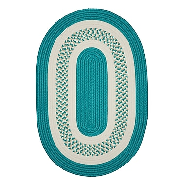 Bay Isle Home Rockport Green Indoor/Outdoor Area Rug; Round 8'