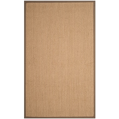 Bay Isle Home Lattimore Beige Area Rug; Rectangle 9' x 12'