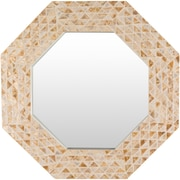 Bay Isle Home Seagrove Hexagon Mirror