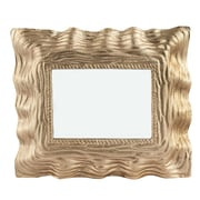 Bay Isle Home Gold Aluminum Mirror