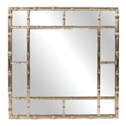 Bay Isle Home Gastonia Bamboo Wall Mirror
