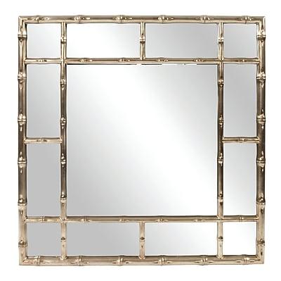 Bay Isle Home Gastonia Bamboo Wall Mirror