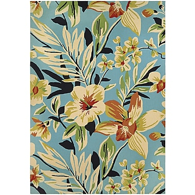 Bay Isle Home Wallingford Whimsical Garden Hand-Knotted Indoor/Outdoor Area Rug