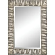 Bay Isle Home Silver Wood Accent Wall Mirror