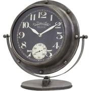 Breakwater Bay Metal Desk Clock
