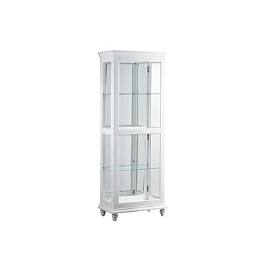 Breakwater Bay Quillen Lighted Curio Cabinet