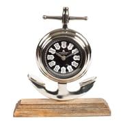 Breakwater Bay Table Clock; 10.5''H x 9.5''W x 3''D