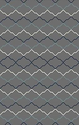 Brayden Studio Bolding Hand-Tufted Gray Area Rug; 8' x 10'