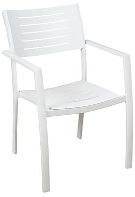 Brayden Studio Aquia Creek Stacking Patio Dining Chair (Set of 4)
