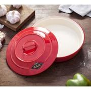 Brayden Studio Mellinger Ceramic Garlic Roaster and Tortilla Warmer