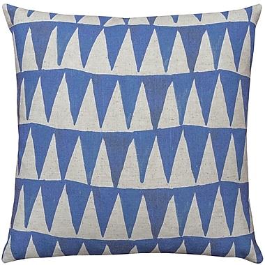 Brayden Studio East Rolstone Triangle Throw Pillow; 18'' H x 18'' W x 8'' D